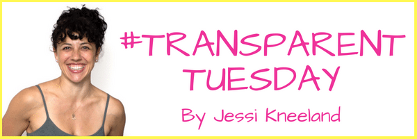 {#TransparentTuesday} Back Pain & Body Image